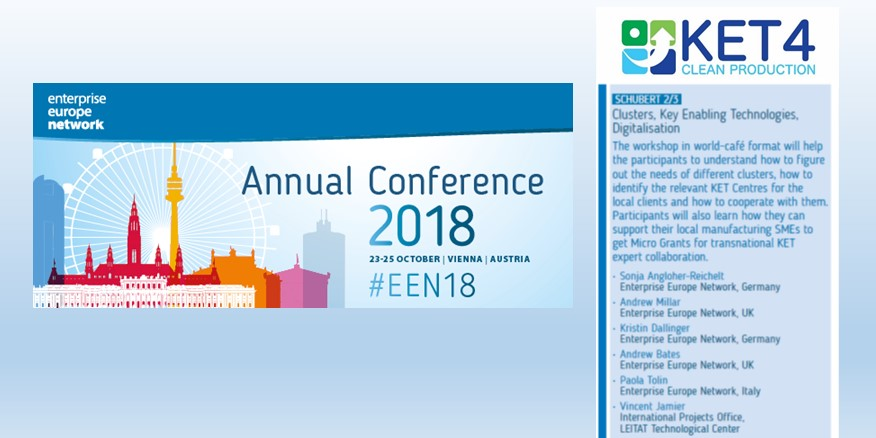 KET4CP at the EEN annual conference 2018