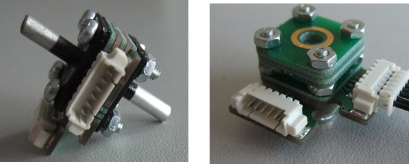 Prototype of self-sensing micro-cantilever sensors for AQ monitoring applications