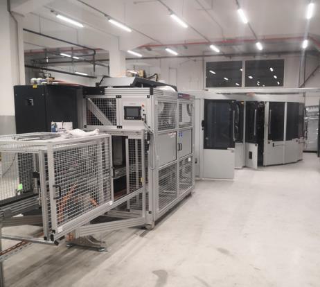 Industrial automatic screen-printing machine Kammann 15 XL